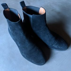&OtherStories Chelsea Suede Ankle Boots